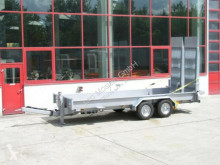 Möslein heavy equipment transport trailer Tandemtieflader mit breiten Rampen-- Fahrgestel