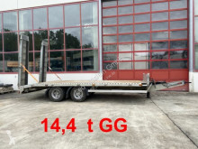 Rimorchio Müller-Mitteltal 14,4 t GG Tandemtieflader trasporto macchinari usato