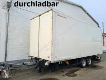 Remolque furgón Andere Möslein Tandemkofferanhänger 44 cbm, durchladbar