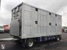 Pezzaioli 2 étages - Palettisable trailer used livestock trailer