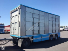 Irma 3 étages - 2 compartiments trailer used livestock trailer