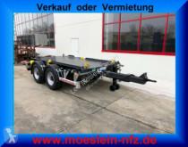 Remorque Möslein 14 t Tandem- Absetzmuldenanhänger,geschlos porte containers occasion