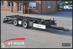 Krone chassis trailer ZZW 18 Tandem, langer HUB, BPW Achse