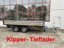 Remorque tri-benne Möslein 13 t Tandem 3- Seitenkipper TiefladerWenig Benu