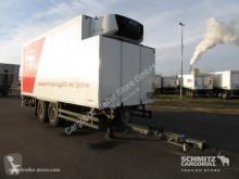Schmitz Cargobull Zentralachsanhänger Tiefkühler Standard Ladebordwand trailer used refrigerated