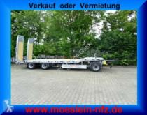 Remolque Möslein 3 Achs Tieflader- Anhänger, NeufahrzeugFeuerver portamáquinas usado