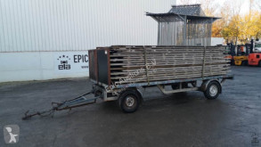 Grümer trailer used dropside flatbed