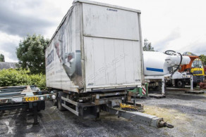 Samro TWIST-LOCK+BACHE AMOVIBLE(2011)+D' Hollandia 2000 kg trailer used box