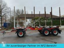 Remorque grumier Huttner N6SE-27 Kurzholz 3-Achs Anhänger Blattfederung