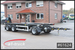 Hüffermann hook lift trailer HARK 2470LS Kipper Frontbeladung