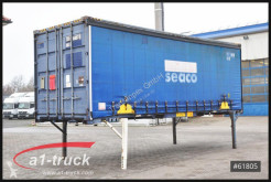 Laadbak met zeilwanden Krone WB 7,45 BDF Container, stapelbar, Containertüren