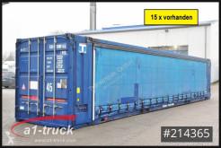Krone 45 HC Container, Schiebeplane, Seitentüren caroserie cu prelată culisantă second-hand
