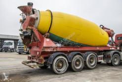 Yarı römork Liebherr BETON MIXER-3 assen- 12M³ beton transmikser / malaksör ikinci el araç