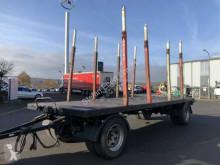 Timber trailer Pavic HPA20 Kurzholz SAF-Achsen 13.650kg Nutzl.