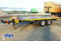 Ackermann Plattform, 6.300mm lang, containerverschlüsse trailer used dropside flatbed