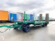 DIHA KALKA AHS 164 Tieflader-Anh., Ex-Polizei, NUR 58.000KM, hydr. Rampen heavy equipment transport used