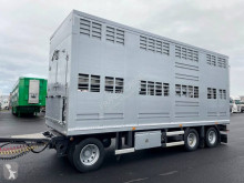 Trailor 2 étages trailer used livestock trailer