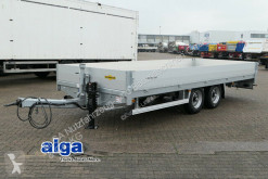 Humbaur heavy equipment transport trailer HBT106224, 6.200mm lang, verzinkt, Pritsche