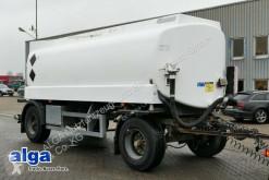 Pótkocsi Industriewerke SAAR TAH200L, 3 Kammern, 20.450 L használt tartálykocsi