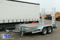 Humbaur heavy equipment transport trailer HS 654020 BS, 4.000mm lang, Rampen, verzinkt