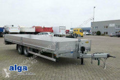 Humbaur heavy equipment transport trailer HBT 107225 BE, 7.200mm lang, verzinkt, Pritsche,