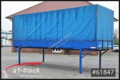 Equipamientos Krone EP 7.4/16 Baustoff, 7,45 BDF, Bordwand, carrocería caja con lona usado