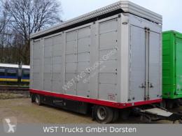 Remolque remolque ganadero Stehmann 3 Stock Hubdach Lüfter