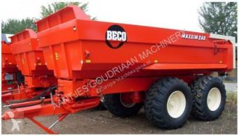 Beco monocoque dump trailer