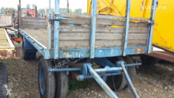 Aanhanger used Fodder flatbed