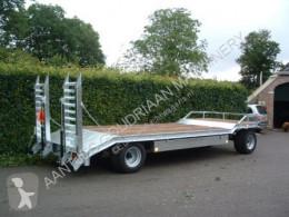 Semie gegalvaniseerd flatbed trailer/blokvogn brugt
