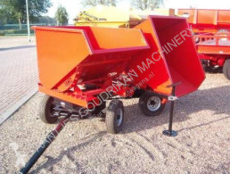 Mini kipper kantelbak trailer used tipper