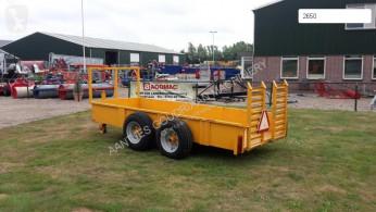 Equipment flatbed AGM Inrijwagen