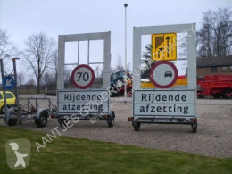 Matériel de chantier Matériel N2921 Verkeersgeleidingswagens