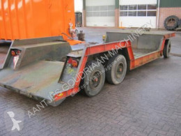 Dieplader trailer used heavy equipment transport