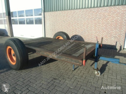 Remolque agrícola Plataforma forrajera Oprijwagen 5 ton