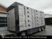 Menke 5 Stock Unfall Hubdach Vollalu Typ 2 trailer used livestock trailer