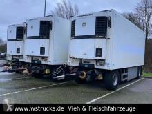 Rimorchio Schmitz Cargobull 7 x KO18 TKing SL 100 Rohrbahn Fleisch frigo usato