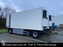 Aanhanger Schmitz Cargobull 7 x KO18 TKing SL 100 Rohrbahn Fleisch tweedehands koelwagen