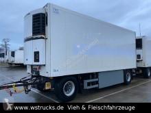 Remolque Schmitz Cargobull 7 x KO18 TKing SL 100 Rohrbahn Fleisch frigorífico usado