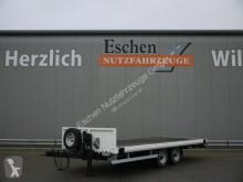 Blomenröhr dropside flatbed trailer 692 / 8900 Twistlock, Steckrungen, Stützbein