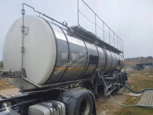 Recker PROWAM-BPW beer tanker trailer used food tanker