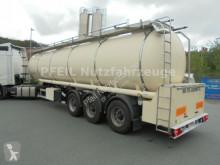 Remolque cisterna alimentario Schrader Drucktank- Heizung- Pumpe- 34.000 Liter