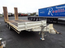Louault porte-engin trailer used heavy equipment transport