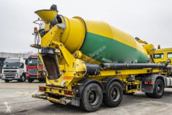 Liebherr BETON MIXER 10 M3 semi-trailer used concrete mixer concrete
