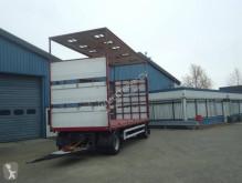 GS AV-2000 2 As Schuifzeilen + Hefdak voor Kippentransport trailer used tautliner