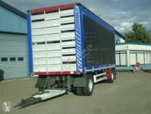Cuppers tautliner trailer SA 10-10 L Schuifzeilen Hefdak Kippentransport