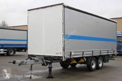 Fliegl flatbed trailer TPS 118 Tandem Schiebeplane Durchladevorrichtung