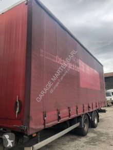 Samro 2 essieux trailer used tarp