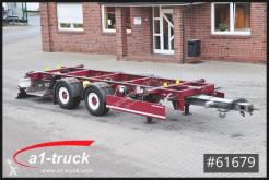 Schmitz Cargobull ZWF 18 BDF Tandem oben gekuppelt, trailer used chassis