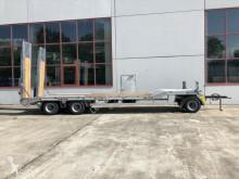 Möslein heavy equipment transport trailer 3 Achs Tieflader- Anhänger, Luftgefedert, Verbr